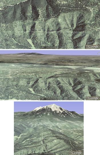 Spanish Peaks, CO, dike 1 oblique 3