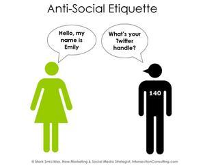 Anti Social Etiquette