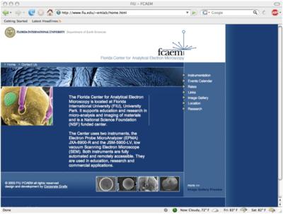 FCAEM Frontpage