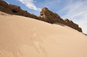 NVF dike and sand dunes