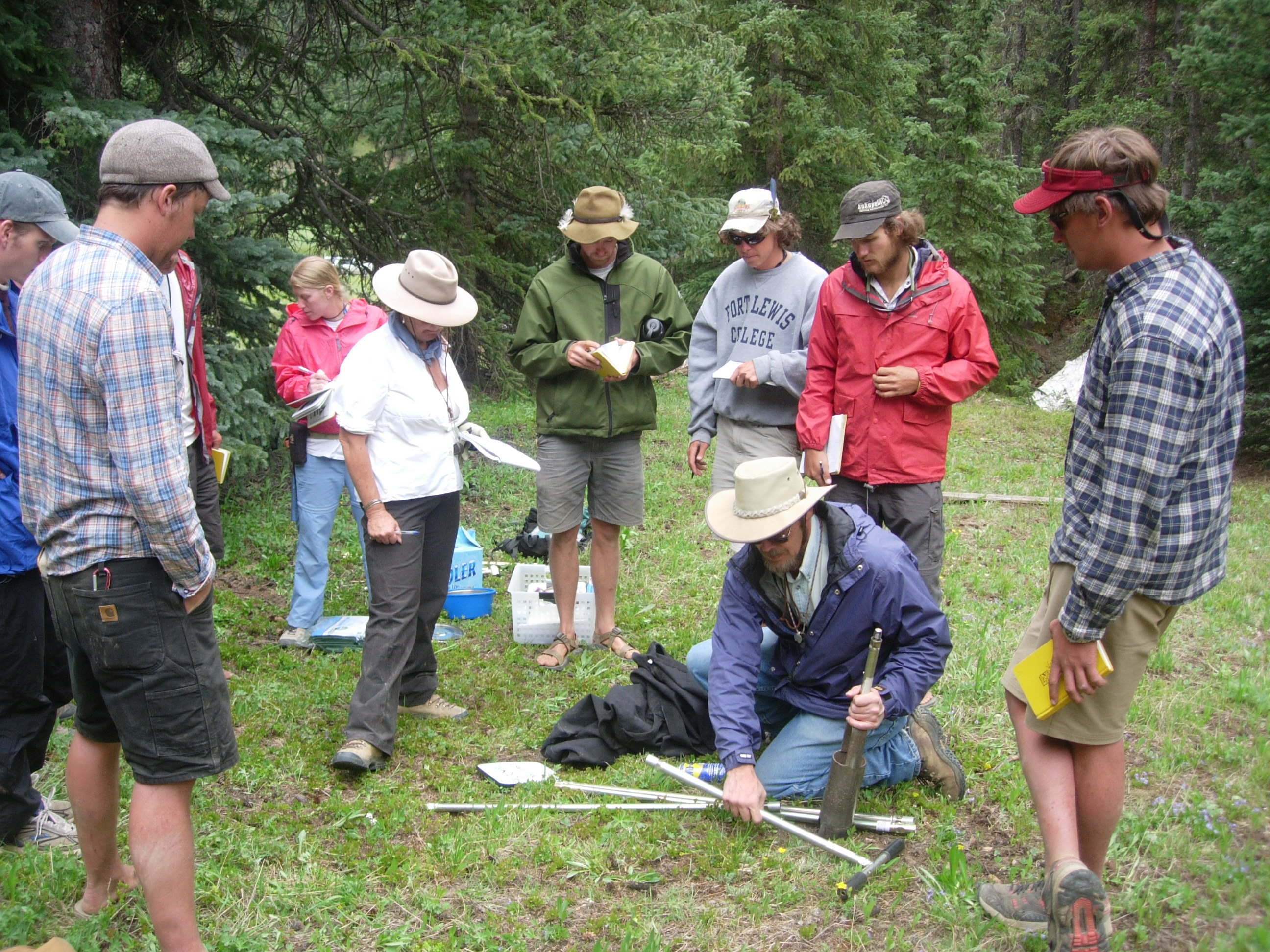 Field Research in an Undergraduate Field Camp