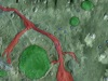 Mars surface image, interpreted