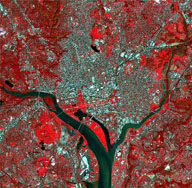 ASTER image of Washington, DC