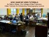 How I make my video tutorials thumb