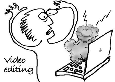 VIdeo Development Cartoon