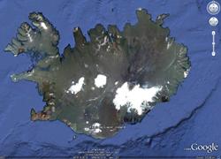 Eyjafjalla Glacier, Iceland