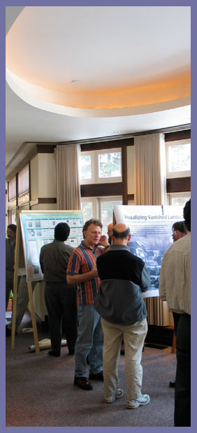 Poster session in the lobby