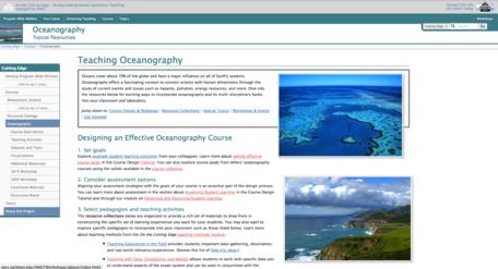 Oceanography screenshot