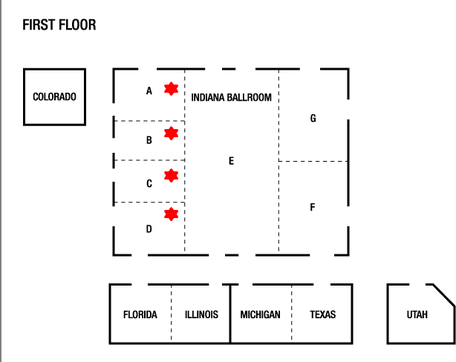 Floor Map of Hotel