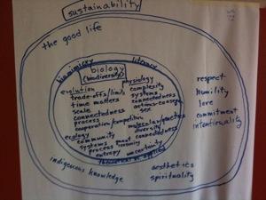 Biology Sustainability Diagram