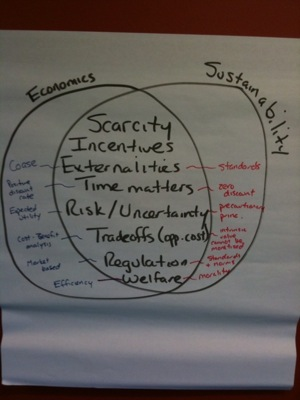 Economics Sustainability Diagram