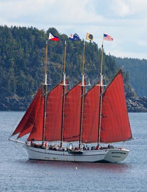 Margaret Todd under sail