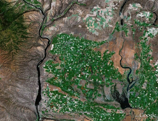 Google Earth sample image