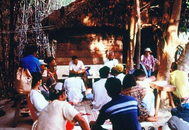 Khao Din villagers