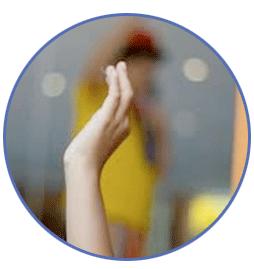 Raised Hand -Large