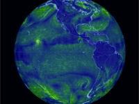 Earth: An animated map of global wind and weather on global rainfall map, average wind direction map, global monsoon map, global winds diagram, global winds map with latitudes, global winds and coriolis effect, world wind direction map, wind arrow on weather map, wind patterns map, prevailing wind direction map, wind flow map, earth wind map, global current map, global prevailing winds map, live wind direction map, bangladesh wind direction map, global snow map, global density map, philippines wind direction map, current us wind map,