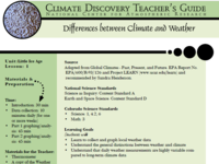 What is the difference between weather and climate?