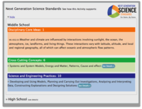 CLEAN NGSS details