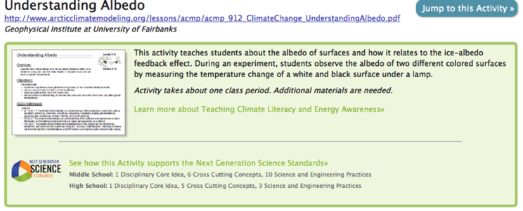 CLEAN NGSS Label
