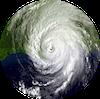 Hurricane Katrina as seen by NOAA satellite