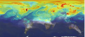 map of CO2