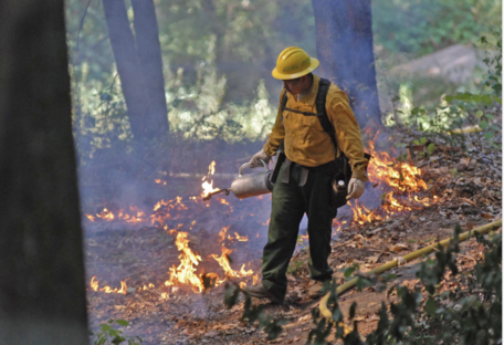 Cultural Fire on Yurok Reservation