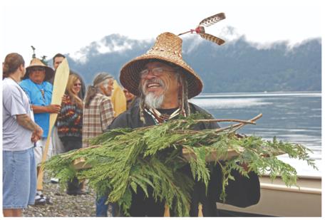 First Salmon Ceremony of the Lummi Tribe, Washington