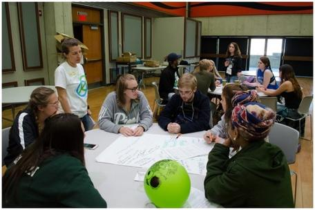 High school teacher Kelli Grabowski leads students to develop climate action plans