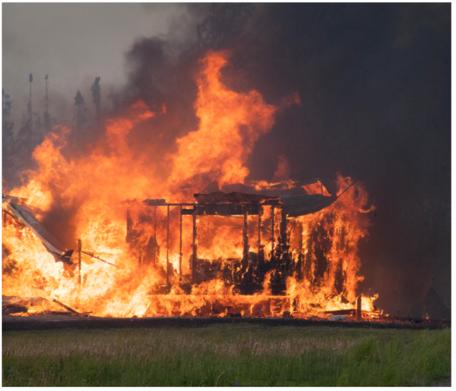 Wildfire Destroys Homes Near Willow, Alaska