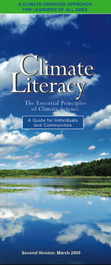 Climate Literacy Framework Cover