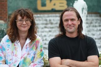 Dr. Jeffrey Morris and Sarah Adkins