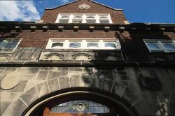 Carleton College building facade