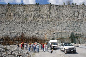 UIUC field trip, quarry