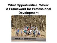 Title slide from Macdonald presentation, Professional Prep workshop