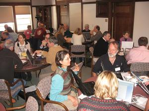 discussing assessment planning, 2009 workshop