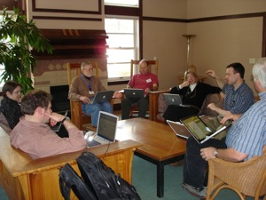 working group discussion, 2009 program assessment workshop