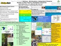 Huntoon poster, 2007 workshop on preparing geoscience professionals