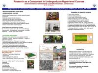 Isiorho poster, 2007 workshop on preparing geoscience professionals