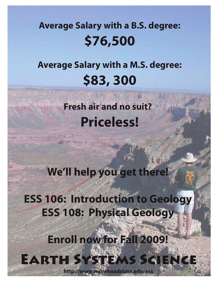 Morehead State University recruitment poster 2
