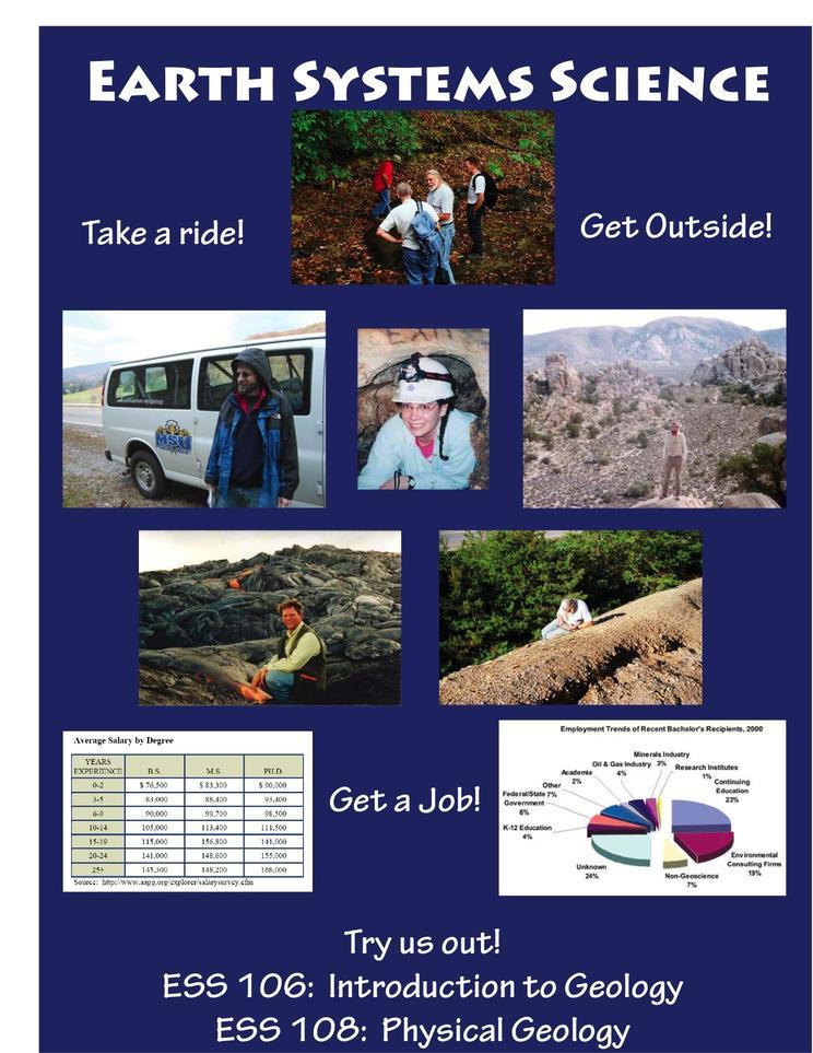 Morehead State University recruitment poster 1