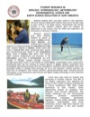 SUNY Oneonta Earth Sciences Undergraduate Research Flyer