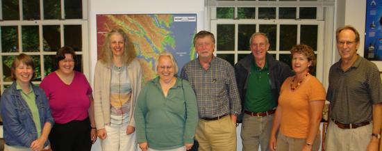 Depts visiting workshop leaders, 2009-2010