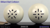 billiard ball collision screenshot