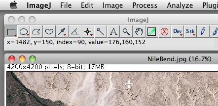 8-bit color status bar