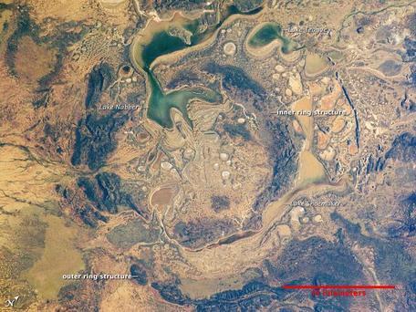 Shoemaker Impact Crater, Australia