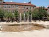 CU Boulder UMC Courtyard