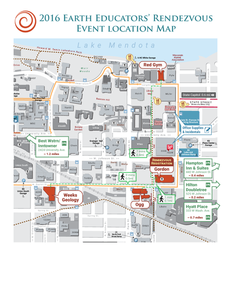 UW Madison Map