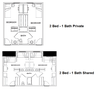 dorm room floor plan