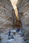 Slot canyon  at Kasha-Katuwe Tent Rocks National Monument