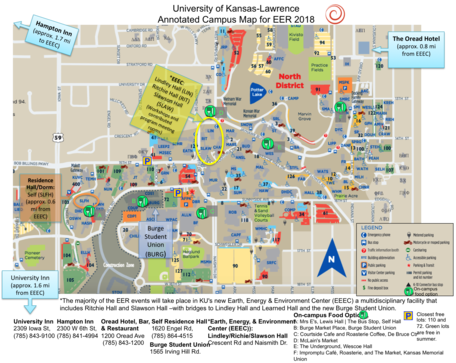 2018 EER Map: University of Kansas, Lawrence